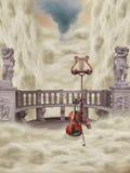 Balcone di fantasia illustrazione vettoriale