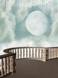 Balcone di fantasia Immagine Stock