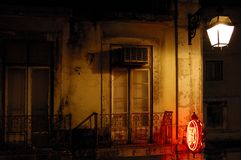 Balcone di Lisbona fotografia stock