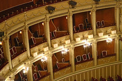 Balcone di opera Fotografie Stock
