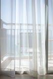 Balcone di vista del mare Immagini Stock