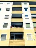 Balcone e finestre Fotografie Stock