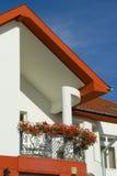 Balcone e tetto Immagine Stock