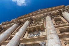 Balcone il papa Fotografia Stock Libera da Diritti