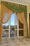 Balcone interno Immagine Stock