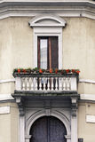 Balcone milanese Immagine Stock