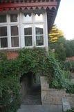 Balcone piacevole ed originale fotografia stock libera da diritti