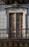 Balcone in Spagna Immagini Stock
