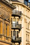 Balcones Imagen de archivo libre de regalías