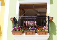 Balcones 1 Imagen de archivo libre de regalías