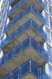Balcones de cristal Imagen de archivo libre de regalías