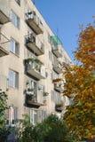 Balcones del apartamento Foto de archivo libre de regalías