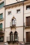 Balcones italianos Imagen de archivo libre de regalías