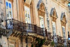 Balcones magníficos Fotografía de archivo libre de regalías