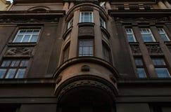 Balcones panorámicos Imagen de archivo libre de regalías