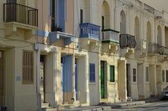 Balcones y puertas Fotos de archivo