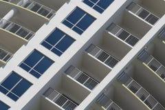 Balcones y Windows imagen de archivo
