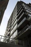 Balconi ascendenti Fotografia Stock