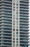 Balconi curvi variopinti Immagine Stock