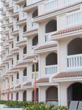 Balconi dell'hotel Fotografia Stock Libera da Diritti