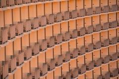 Balconi dell'hotel Fotografie Stock