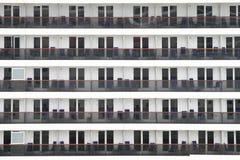 Balconi della cabina di una nave da crociera immagine for Cabina interna su una nave da crociera