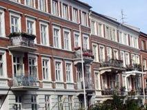 Balconi di Copenhaghen Immagini Stock