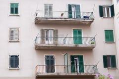 Balconi Mediterranei Fotografie Stock Libere da Diritti