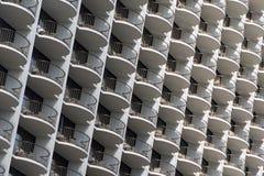 Balconi nel cielo Fotografia Stock