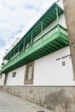 Balconi tipici Fotografia Stock Libera da Diritti