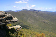 The Balconies. (Grampians National Park, located in Victoria, Australia Royalty Free Stock Image