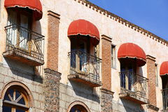 Balconies Royalty Free Stock Image