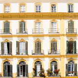 Balconies Stock Photography