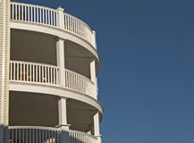 Balconies royalty free stock images