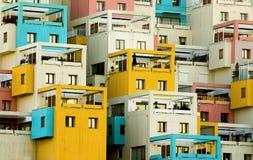Balconies. Apartments building in Ankara turkey Stock Photography