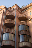 The balconies Royalty Free Stock Image