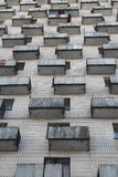 Balconies abstract city background Stock Images