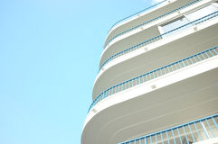 Balconies on apartments Royalty Free Stock Photos