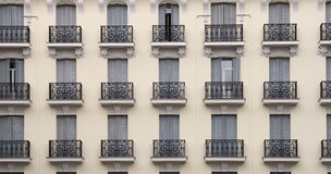 Balconies building Stock Photos