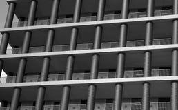 Balconies in building