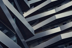Balconies on building Stock Images