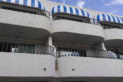 Balconies and Canopies Royalty Free Stock Image