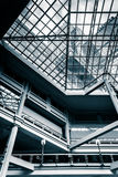 Balconies and the ceiling inside The Gallery in the Inner Harbor Royalty Free Stock Image