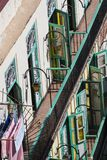 View over balconies in Havana, Cuba Stock Photos