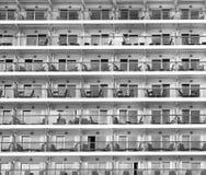 Balconies Royalty Free Stock Photos