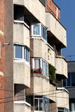 Balconies Stock Photo