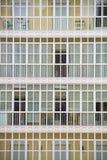 Balconies. Floors of a residential building in Spain Stock Photo