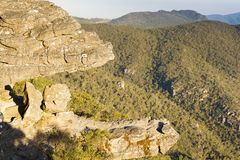 The Balconies Grampians. The Balconies lookout in the Grampians National Park, Victoria, Australia Stock Photography