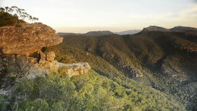 The Balconies, Grampians National Park stock video footage