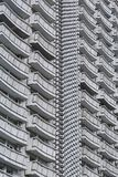 Balconies of High-rise Building Royalty Free Stock Photography